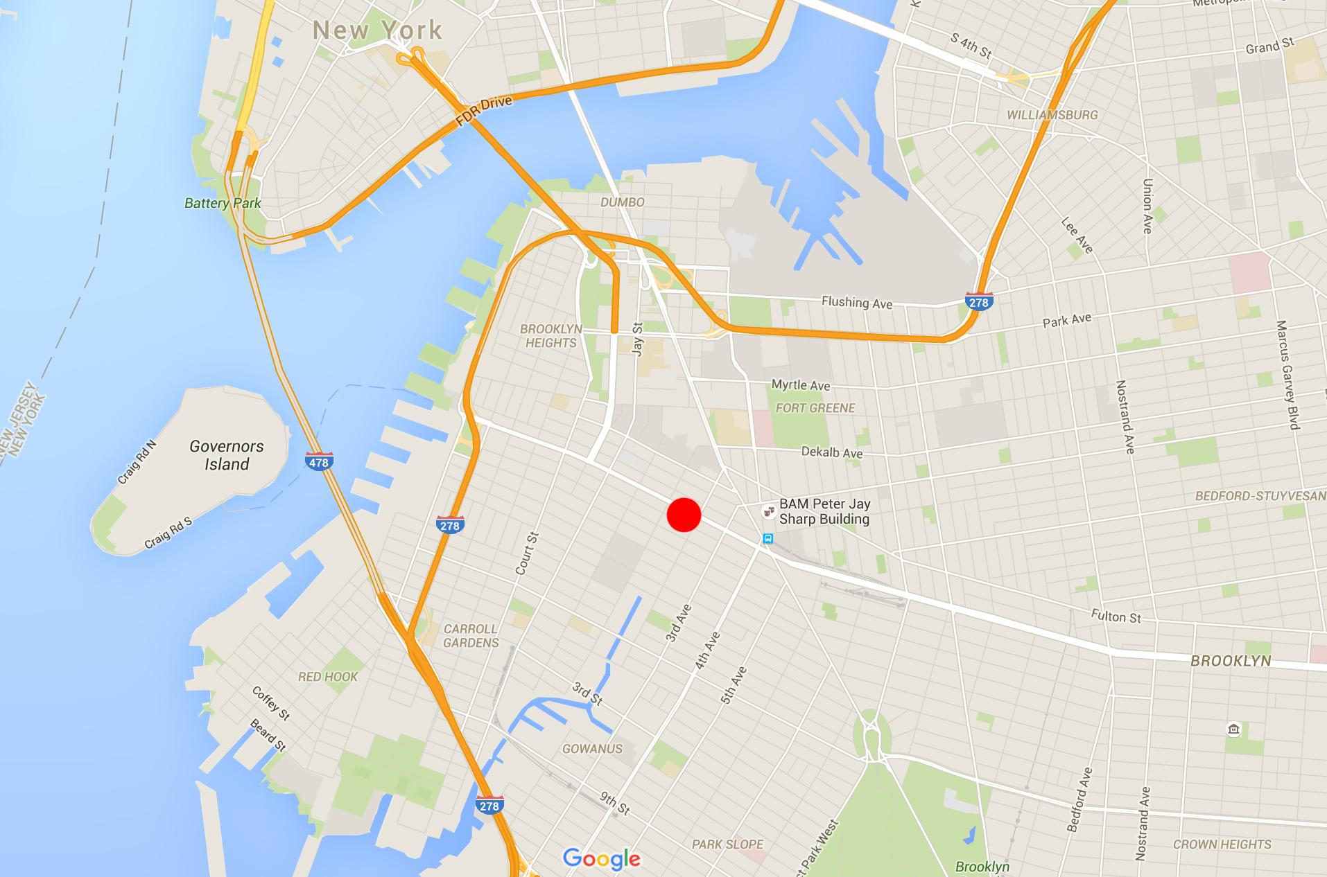 Map NY